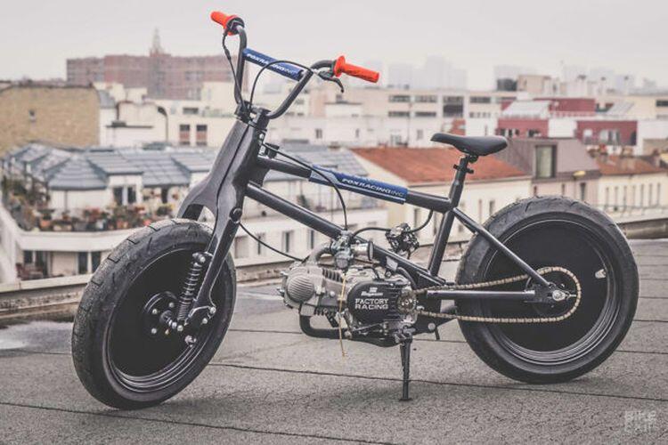 Sepeda Pakai Mesin Motor, Bahaya Gak sih Gan??