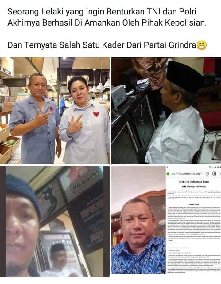 (TERCYDUK) Sebar Provokasi dan Adu Domba TNI-Polri, Seorang Pria Ditangkap di Cirebon