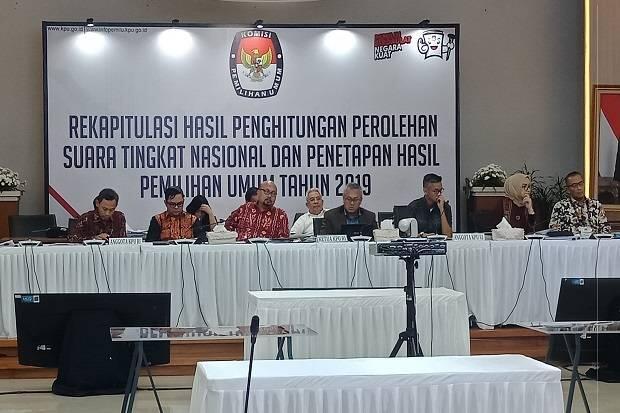Rekapitulasi KPU, Jokowi-Ma'ruf Ungguli Suara Prabowo-Sandi di DIY
