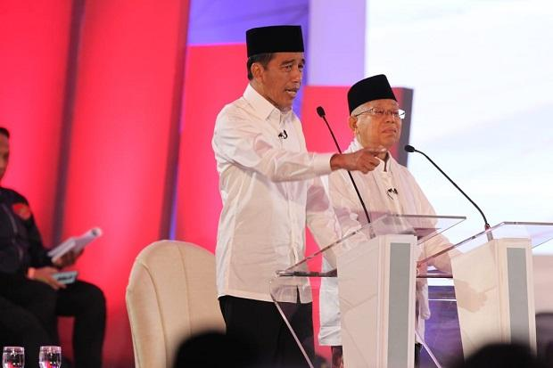 Hasil Rekapitulasi KPU, Jokowi-Ma'ruf Menang di Kalimantan Timur