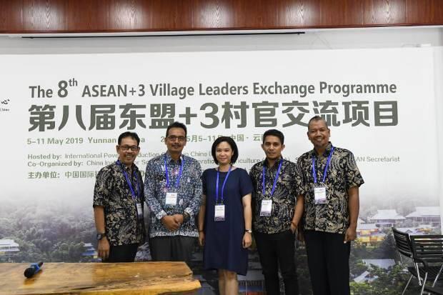 Kades dari Indonesia Berbicara di Forum ASEAN di Tiongkok