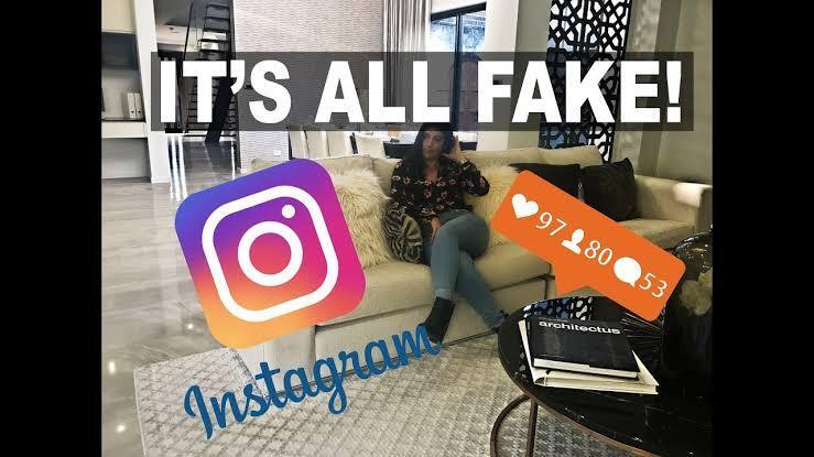 Kontent Fake Life Banyak Tersebar Di Dunia Medsos !! Kamu Suka ?
