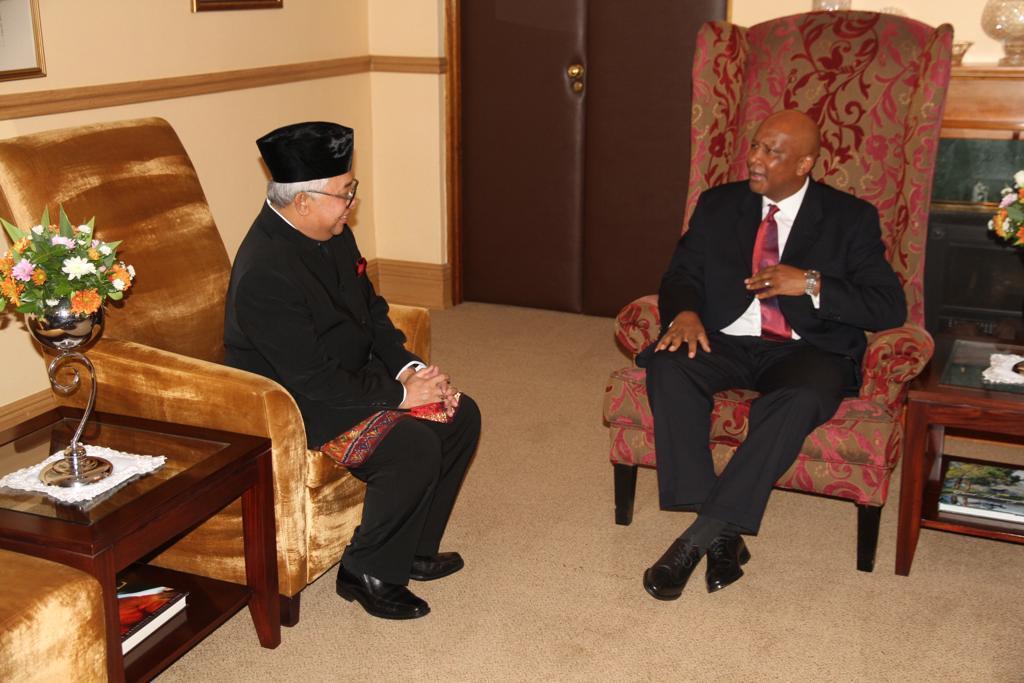 Raja Lesotho Inginkan Kerja Sama Lebih Erat dengan Indonesia