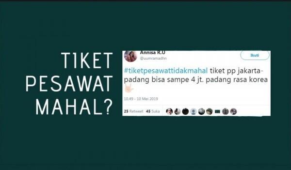 20 Respon #TiketPesawatTidakMahal Ingat Ini Puasa, Sabar!