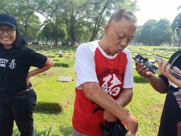 Kisah Pilu Iwan, Dibakar Hidup-hidup Saat KerusuhanMei 98
