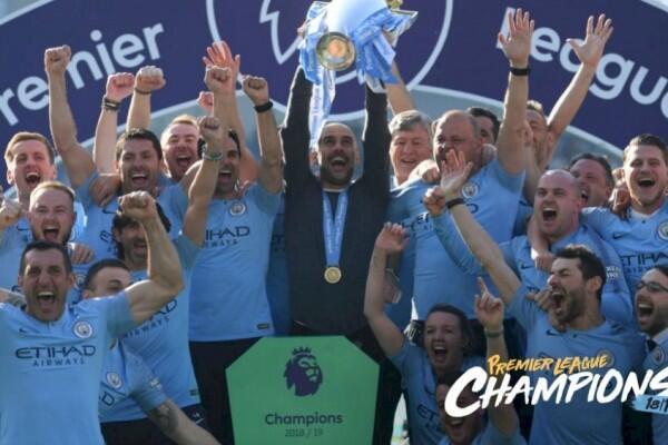 [FOTO] Jalan Manchester City Menuju Takhta Premier League 2018/2019