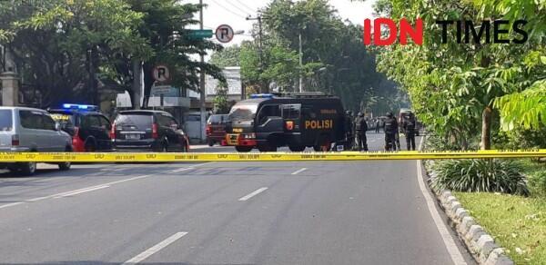 Tak Ada Car Free Day Pagi Itu di Jalan Diponegoro, Surabaya
