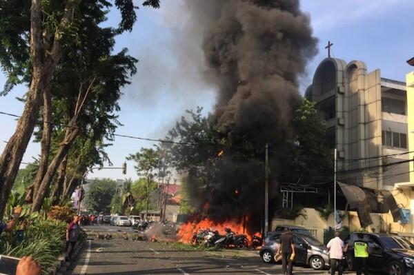 Bom Gereja Pantekosta Itu Renggut Nyawa Daniel Si Little Hero