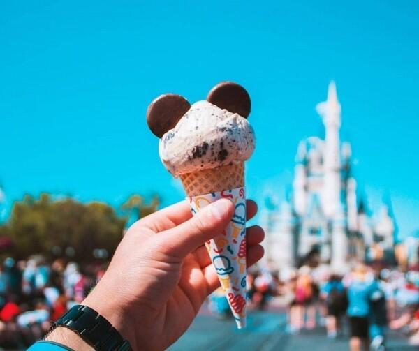 10 Es Krim Disney yang Paling Menggemaskan, Bikin Lidah Penasaran
