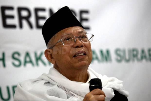 Respons Ma'ruf Amin Soal BPN 02 Akan Paparkan Fakta Pilpres 2019