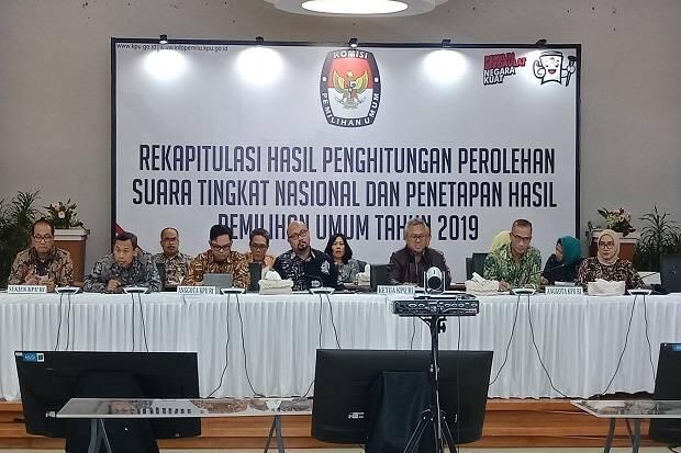 Data TPS Capai 80 Persen, Jokowi-Ma'ruf Tetap Unggul dari Prabowo-Sandi