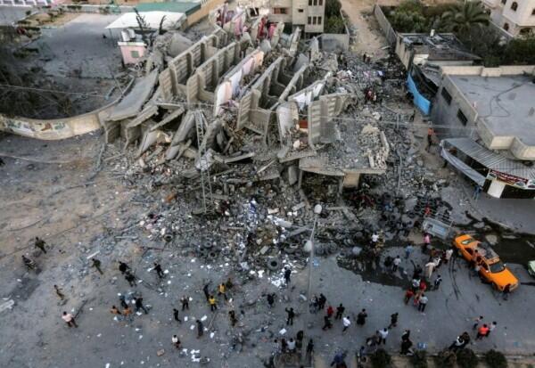 IHC Aksi Cepat Tanggap Berikan 250 Ton Pangan untuk Gaza
