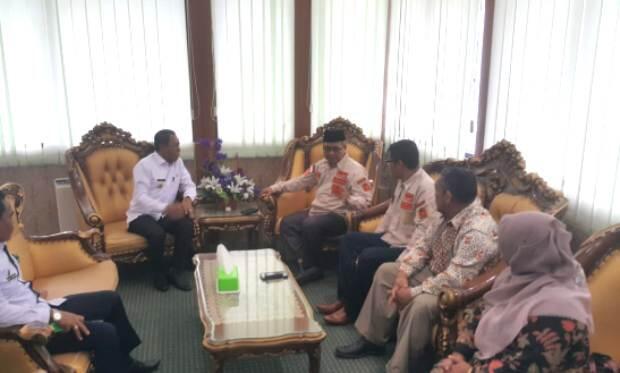 Pemerintah Kota Palu Terima Bantuan untuk Pesantren dari Kabupaten Aceh Barat