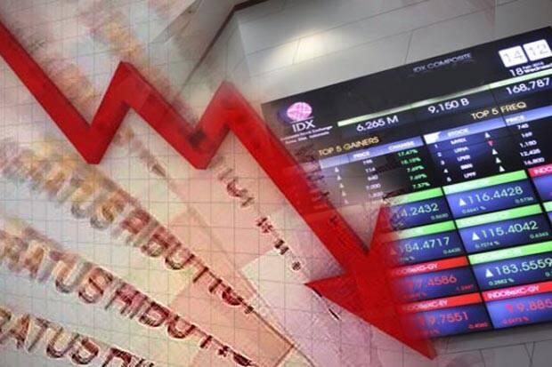 Anjloknya Neraca Dagang Bikin IHSG Memerah, Investor Asing Banyak Hengkang