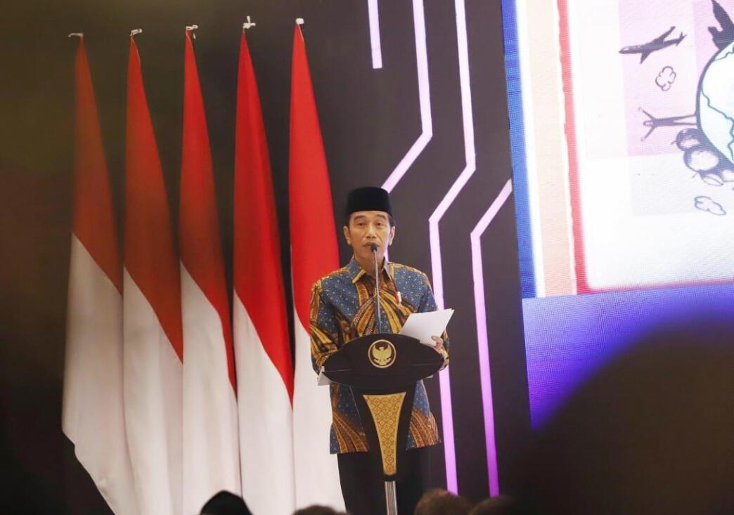 Presiden Jokowi Luncurkan Masterplan Ekonomi Syariah Indonesia