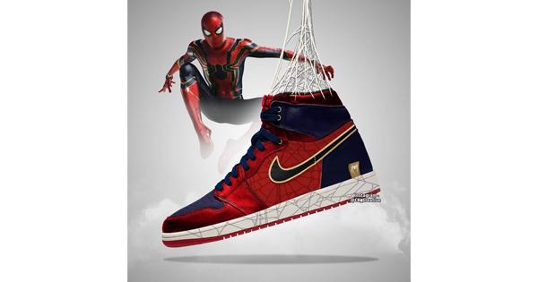 """Ada yang Baru Nih Gan! Sneakers Air Jordan Versi """"Avengers : Endgame""""! Mau?"""