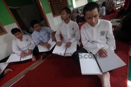 Ramadhan, Puluhan Siswa SLB-A Pembina Lebak Bulus Ikuti Pesantren Kilat
