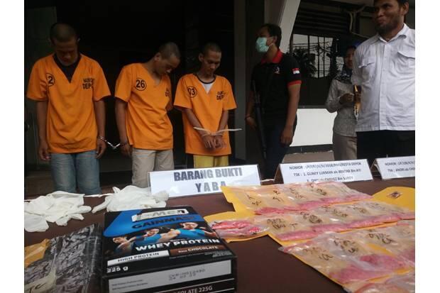 Penyelundupan Narkoba Baru asal Thailand ke Rutan Depok Digagalkan