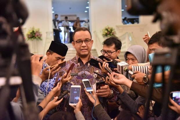 Anies Baswedan Optimistis LRT Jakarta Beroperasi Sebelum Lebaran