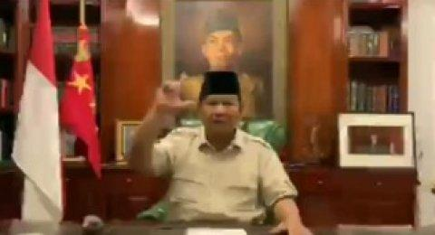 Prabowo Bandingkan Penanganan Ratusan Petugas KPPS Meninggal dengan Sapi