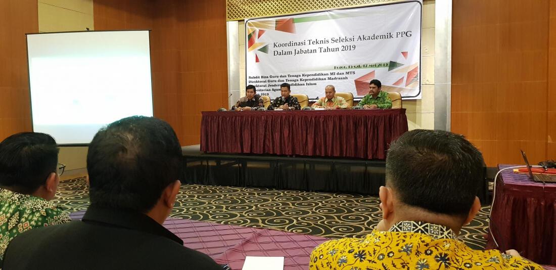 138 Ribu Guru Madrasah akan Ikuti Seleksi Peserta PPG 2019