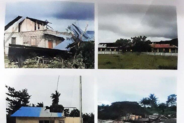 196 Rumah Rusak Terdampak Badai Siklon Tropis