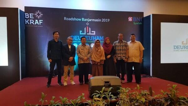 Bekraf dan BNI Syariah Ajak Ekrafpreneur Daftar Deureuham 2019