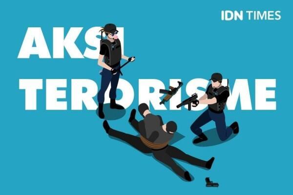 Jaringan Teroris JAD Jawa Diduga Siapkan Serangan Pada Pemilu 2019