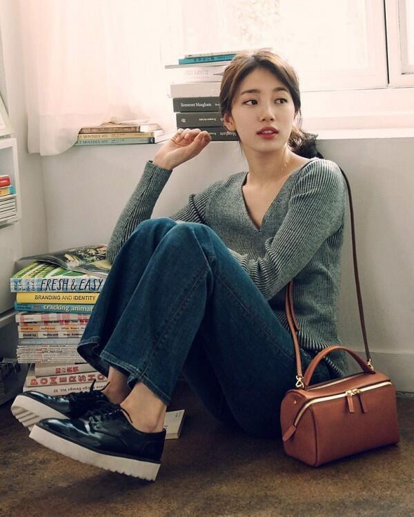 7 Mix & Match Trendi nan Modis ala Bae Suzy,Kasual Sampai Feminim