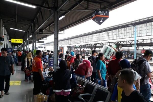 Stasiun Pasar Senen Siapkan Fasilitas Baru untuk Pemudik