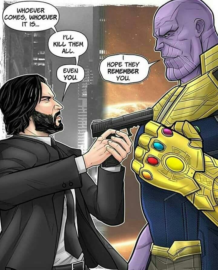 John Wick Bisa Mengalahkan Thanos! [Sebuah Teori]
