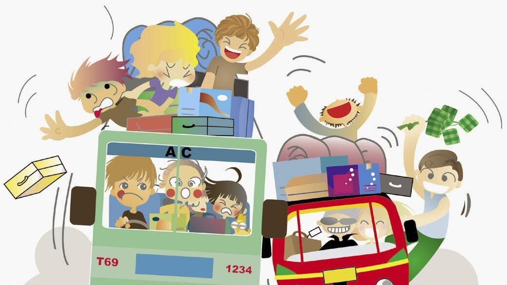Bingung Pilih Transportasi Buat Mudik Nanti? Baca Ini Deh!