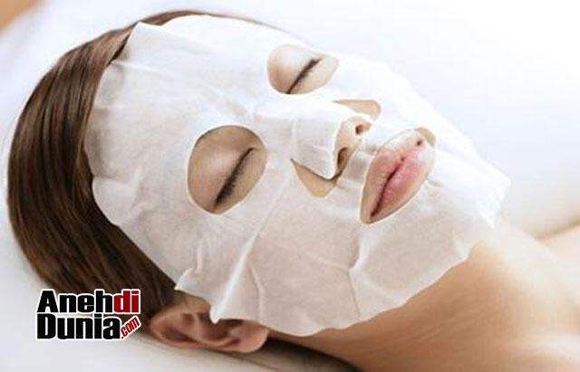 7 Masker Wajah Unik dan Aneh Mengejutkan, Salah Satunya Sperma