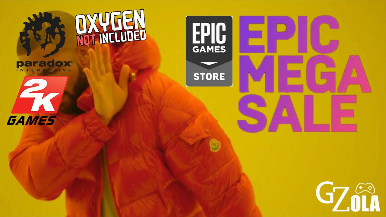 Hindari EPIC Mega Sale, Beberapa Publisher Tarik Game Sementara