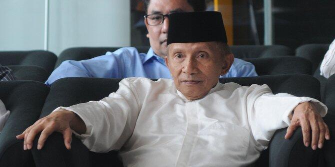 'People Power', Amien Rais, dan Wajah Muram Istana Kertanegara