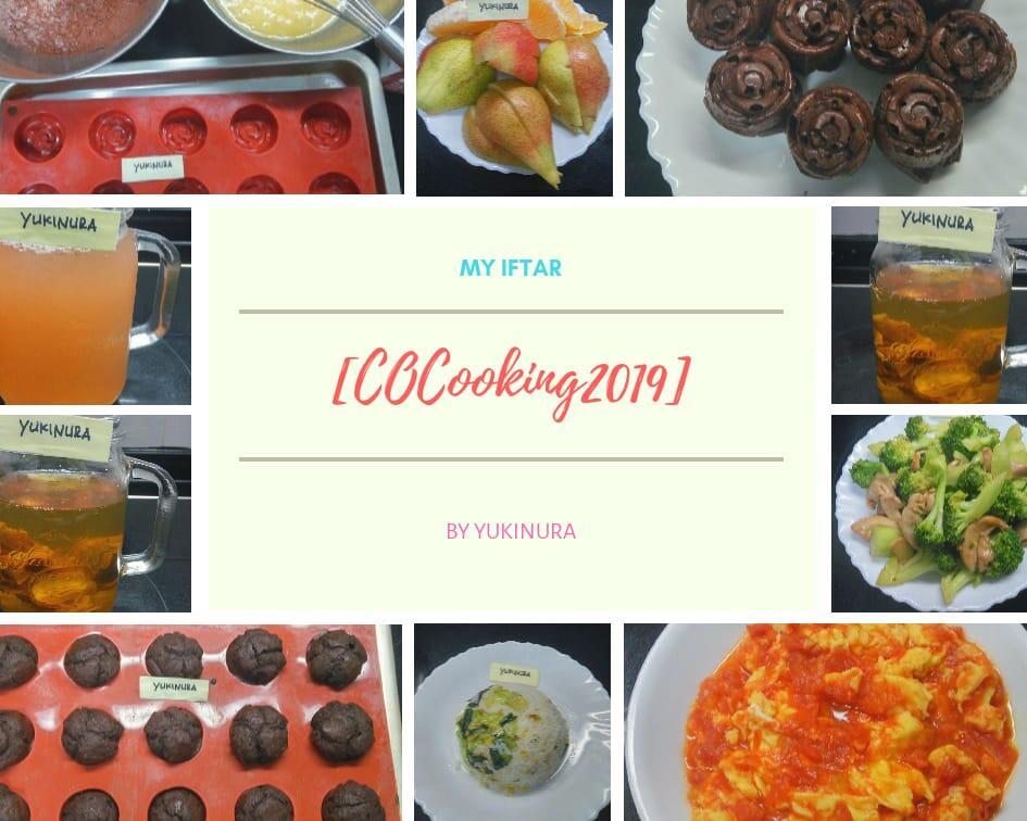 [COCooking2019]Berbuka Sehat Dengan Makanan Sederhana Yang Istimewa 'Home Made'