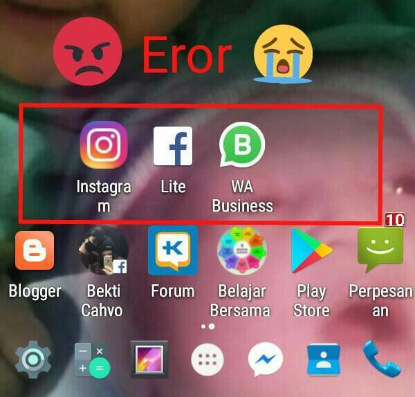 Erornya Facebook, Whatshapp dan Instagram Bikin Resah Netizen, Apa Pendapatmu?