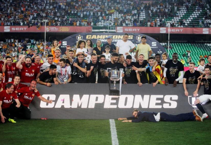Final Copa del Rey: Barcelona Takluk dari Valencia