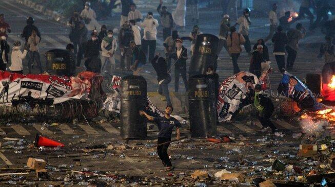Ini Tugas 11 Tersangka Kerusuhan 22 Mei, Salah Satunya Bawa Air Cuci Muka