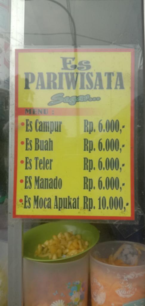 [COCooking2019]Nasi Padang & Es Manado, Teman Berbuka Ketika Dapur Tak Mengepul