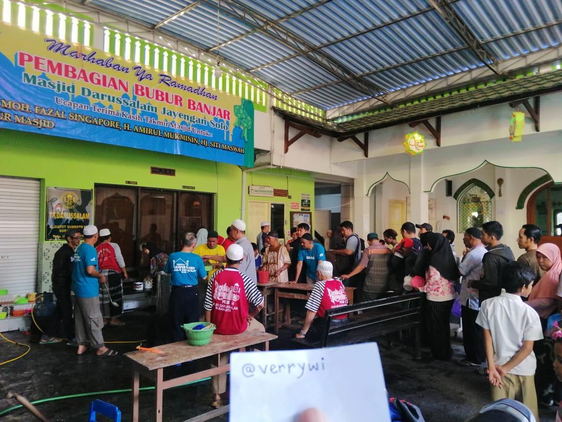 (COCooking2019) Bubur Banjar Samin ( masjid Darrusallam jayengan solo )