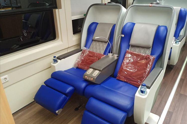 Begini Penampakan Kereta Luxury Class Generasi Kedua yang Baru Dirilis PT KAI