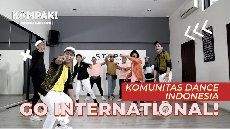 [KOMPAK] Komunitas Dance Indonesia, Go International!