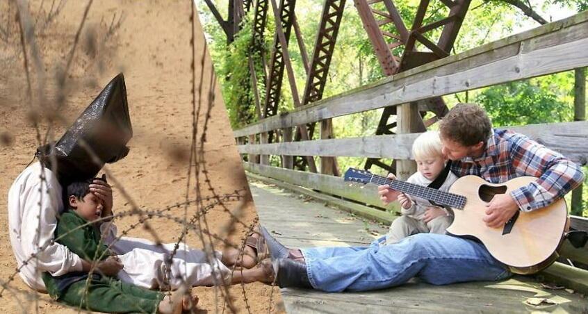 Ketika Dua Sisi Kehidupan Yang Bertentangan dikemas Dalam Seni Photografi