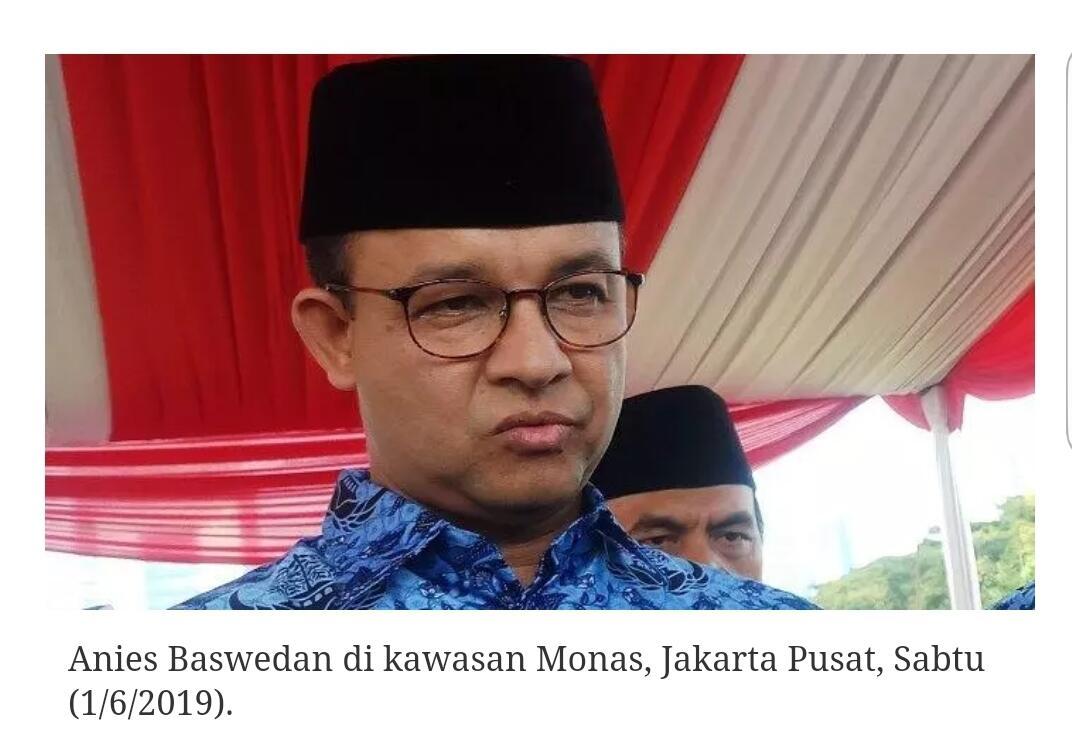 Anies : Semua Orang Bebas Masuk Jakarta