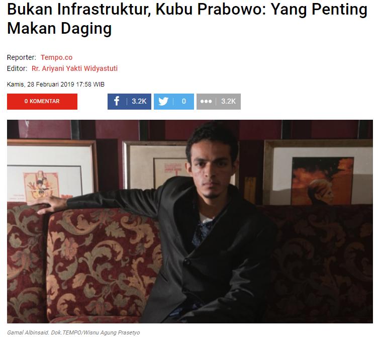 Bisakah Indonesia Maju tanpa Harus Mengembangkan Infrastruktur?