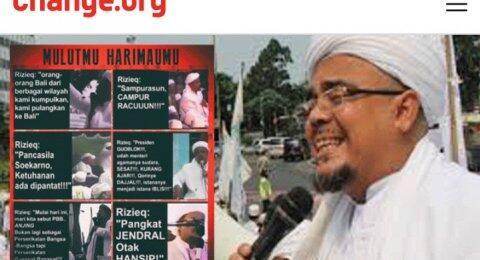 Ramai Petisi Cabut Status WNI Habib Rizieq, FPI Mau Bikin Tandingannya