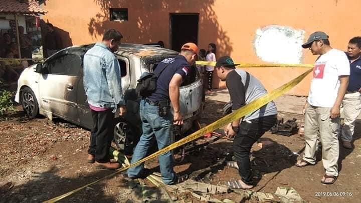Dendam Itu Sakit Gan! Kasus Salah Bakar Mobil Tetangga Yang Baru Pulang Mudik