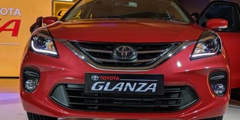 Pangling Enggak Gan, Ada Suzuki Baleno Berlogo Toyota