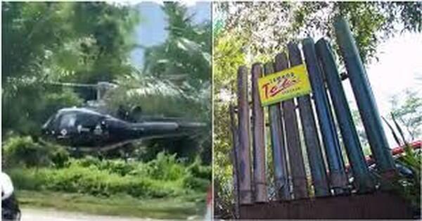 Heboh Beli Lemang Naik Helikopter, Menurut Agan Caper atau Kaya?